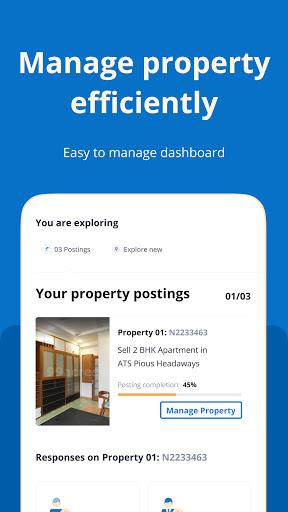 99acres Real Estate & Property 8 تصوير الشاشة