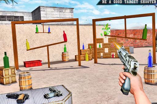 असली बोतल शूटिंग गन गेम्स- मुफ्त शूटिंग गेम्स 2020 स्क्रीनशॉट 3