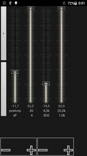music player with parametric equalizer & surround screenshot 3