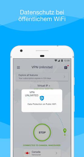 VPN Unlimited - WiFi Proxy screenshot 7