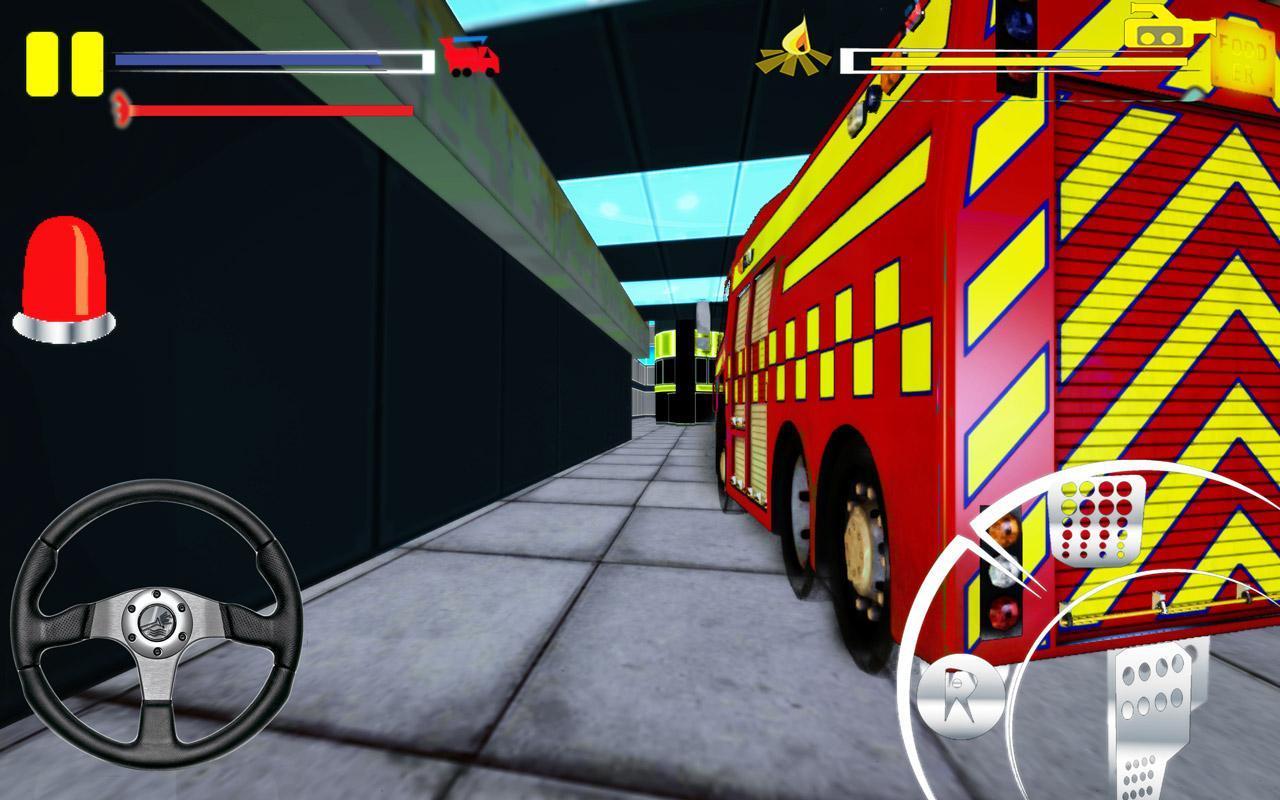 Firefighter-Fire Brigade Truck screenshot 7