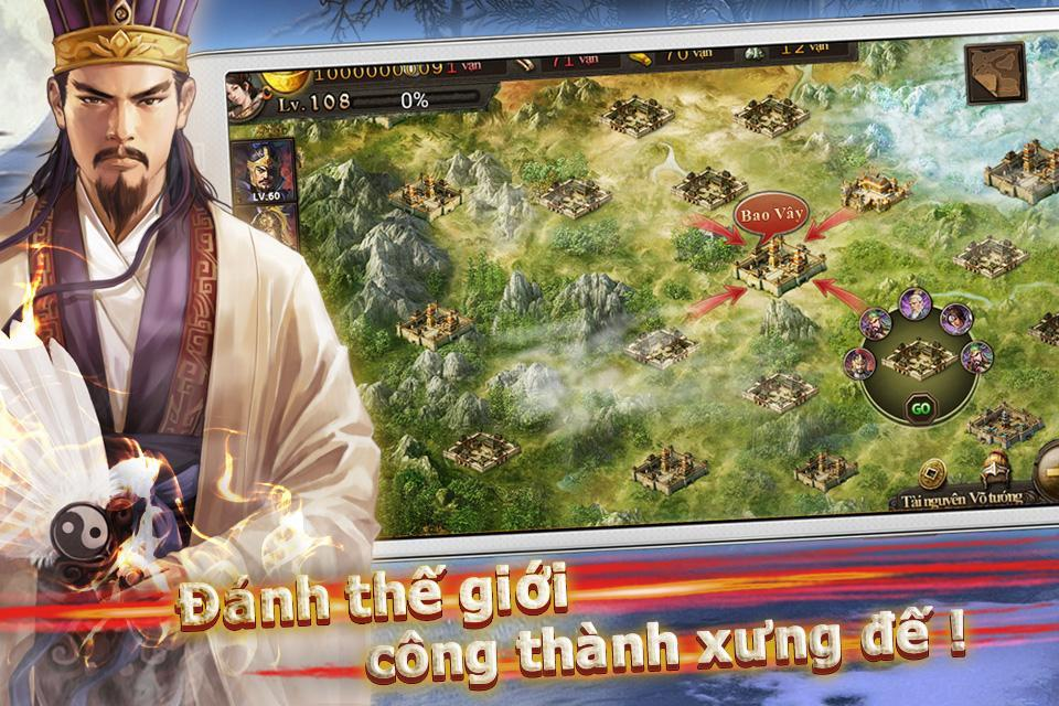 Bá Chủ Tam Quốc – CTXĐ screenshot 8