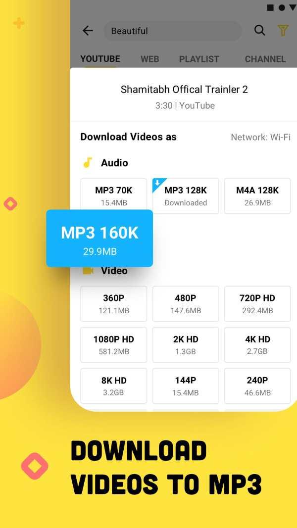 YouTube Downloader and MP3 Converter Snaptube screenshot 5