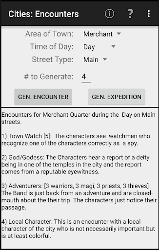 City Encounters screenshot 1