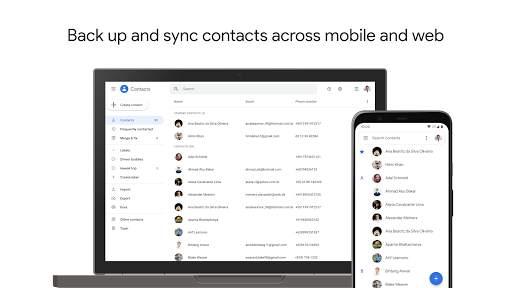 Contacts screenshot 1