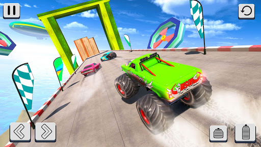 Mega Ramp Car Stunt Racing 3D - Impossible Roads screenshot 3
