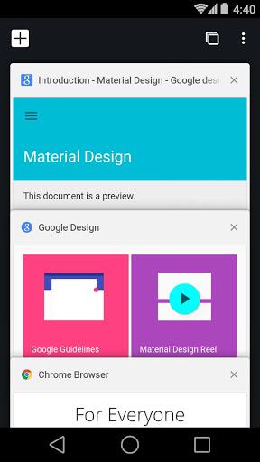 Chrome Beta स्क्रीनशॉट 1