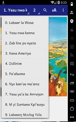 Comic Yesu Onɛ An Mazaya La (Kusaal (Ghana)) 2 تصوير الشاشة