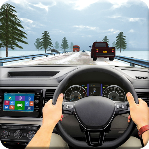 Traffic Racing In Car Driving : Free Racing Games icon