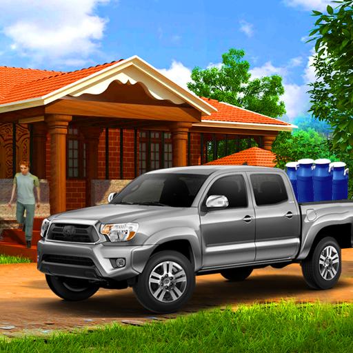 Milk Van Delivery Simulator 2018 icon