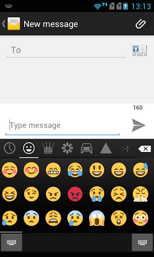 Emoji Keyboard - Color Emoji 3 تصوير الشاشة