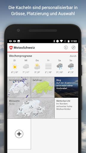 MeteoSwiss screenshot 1
