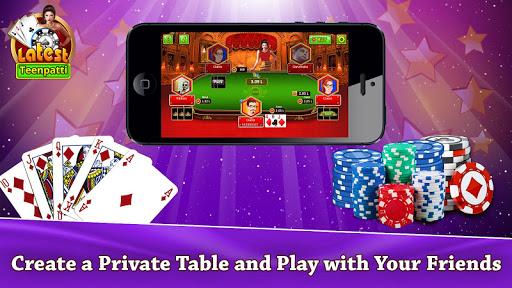 Latest Teen Patti - Free Online Indian Poker Game 2 تصوير الشاشة