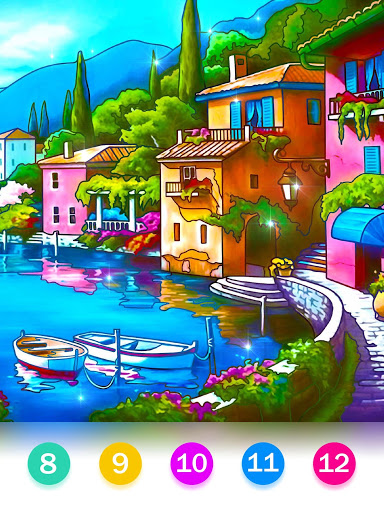 Color by Number - Happy Paint screenshot 12