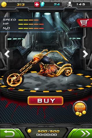 Death Moto 2 : Zombile Killer - Top Fun Bike Game 2 تصوير الشاشة