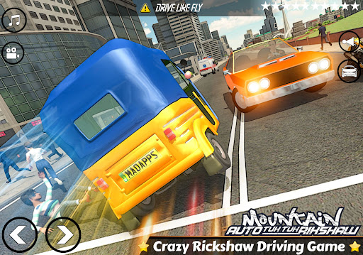 Mountain Auto Tuk Tuk Rickshaw Novos Jogos de 2020 screenshot 7