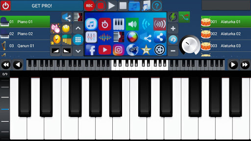 Portable ORG Keyboard 1 تصوير الشاشة