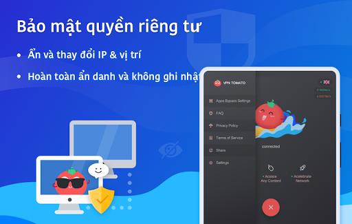 VPN Tomato miễn phí   Điểm truy cập nhanh nhất screenshot 10
