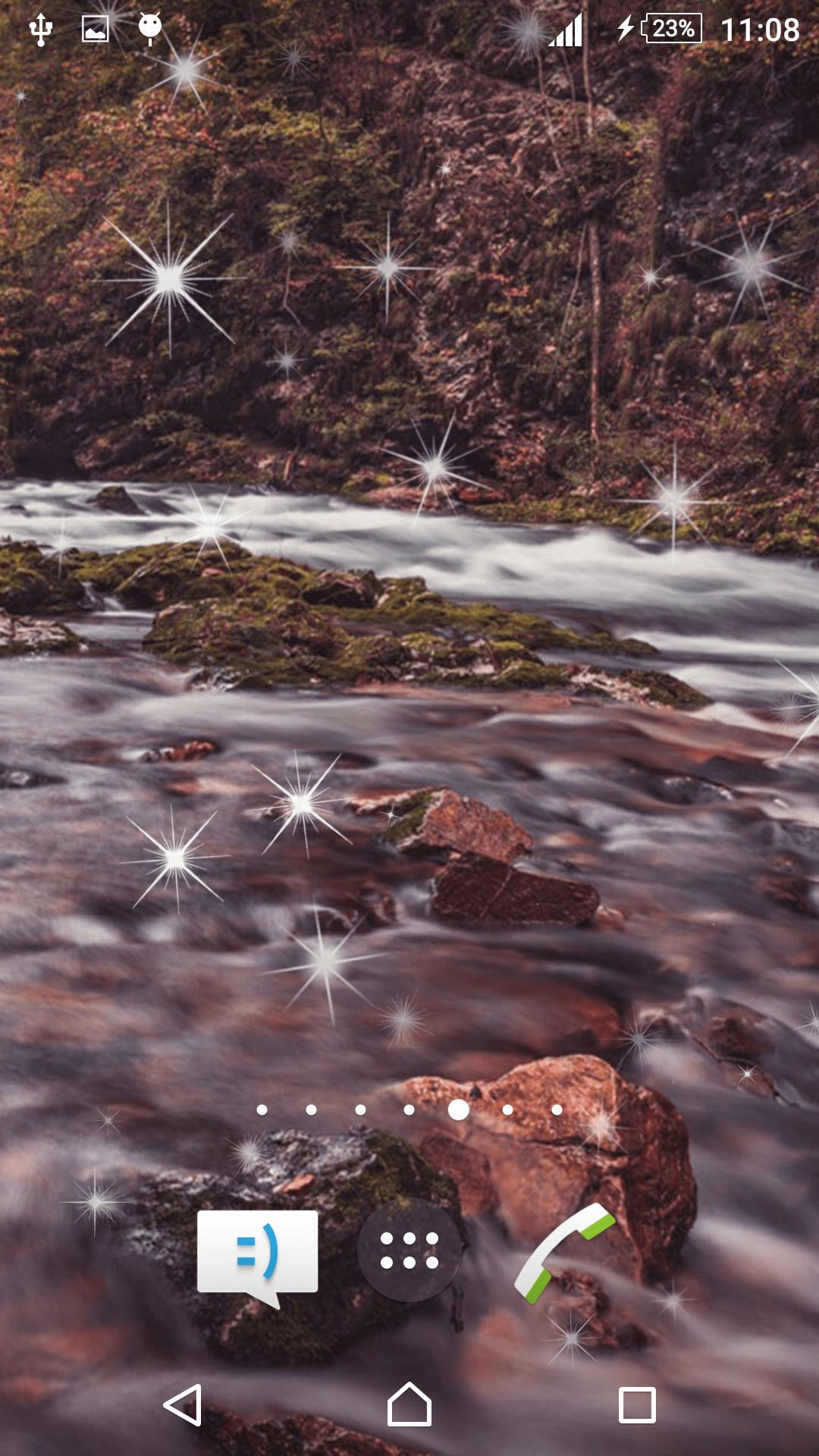 Waterfall Live Wallpaper screenshot 3