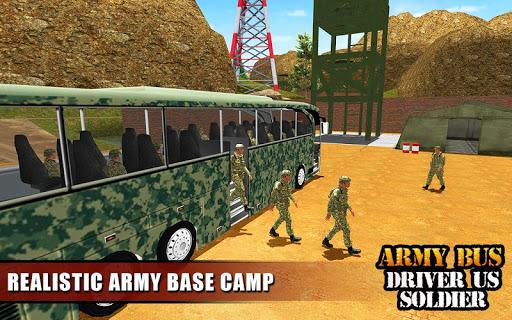 Army Bus Driver 2021:Real Military Coach Simulator screenshot 23