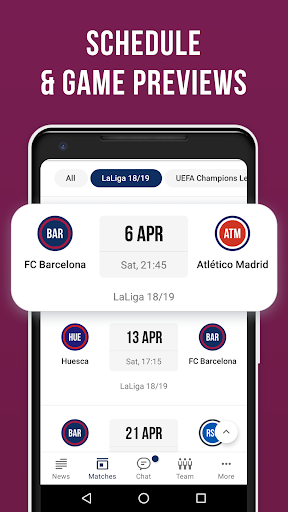 Barcelona Live — Not official app for FC Barca Fan screenshot 7