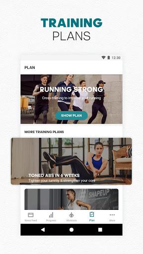adidas Training by Runtastic - Workout Fitness App screenshot 6