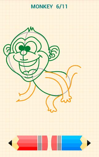 How to Draw Animals 5 تصوير الشاشة