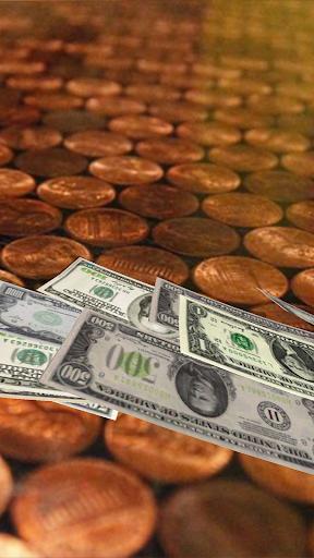Falling Money 3D Live Wallpaper 5 تصوير الشاشة
