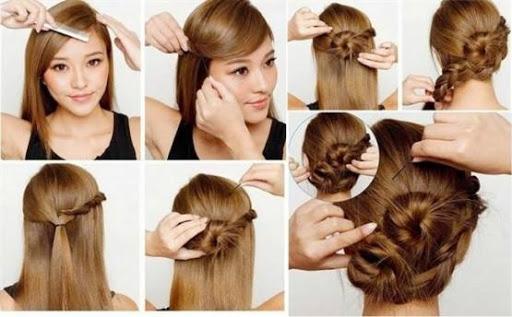 خطوة خطوة الشعر (أنثى) 4 تصوير الشاشة