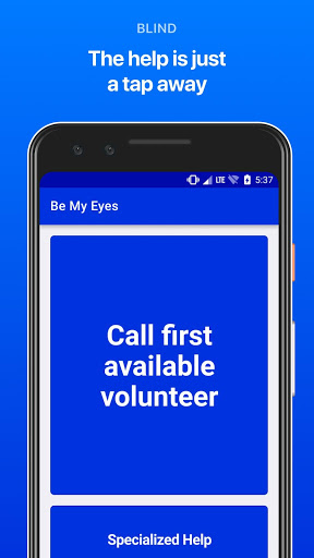 Be My Eyes - مساعدة المكفوفين 6 تصوير الشاشة
