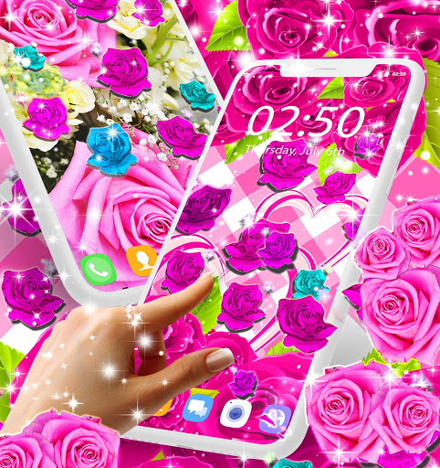 Best rose live wallpaper 2021 скриншот 1