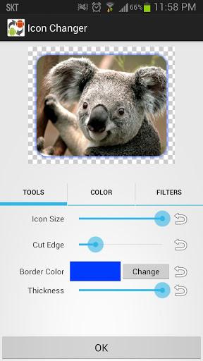 Icon Changer free 3 تصوير الشاشة