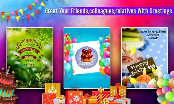 Birthday Greetings screenshot 5