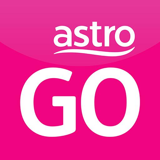 Astro GO - TV Series, Movies, Dramas & Live Sports أيقونة