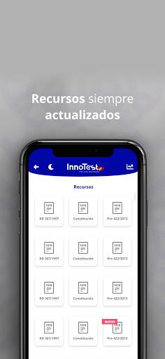 InnoTest Policía Nacional 2020 - Test Oposiciones 4 تصوير الشاشة