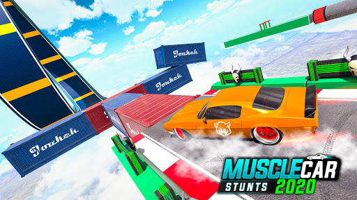 Muscle Car Stunts 2020: Mega Ramp Stunt Car Games screenshot 6