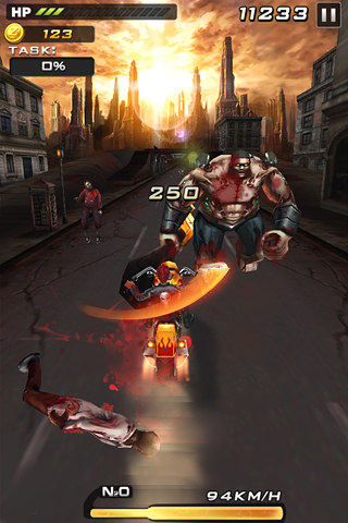 Death Moto 2 : Zombile Killer - Top Fun Bike Game 5 تصوير الشاشة
