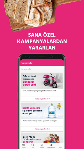 Yemeksepeti - Yemek & Market Siparişi screenshot 8