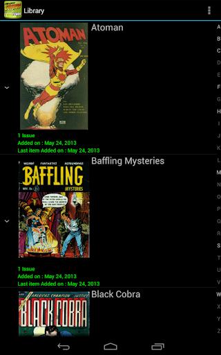 Challenger Comics Viewer 8 تصوير الشاشة