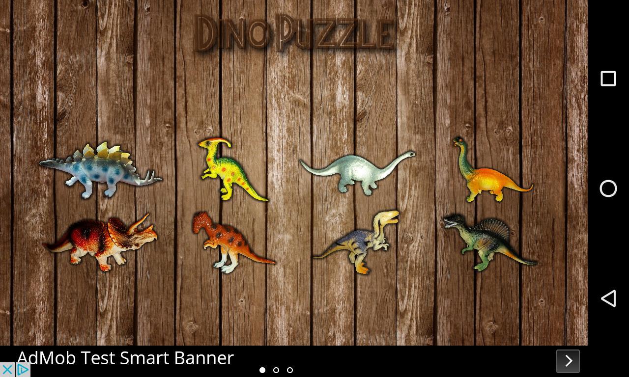 Dino Puzzle 1 تصوير الشاشة