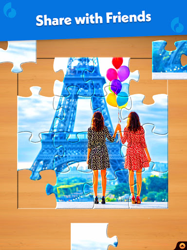Jigsaw Puzzle: Create Pictures with Wood Pieces 13 تصوير الشاشة