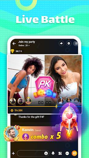 Ola Party - Live, Chat, Game & Party screenshot 3