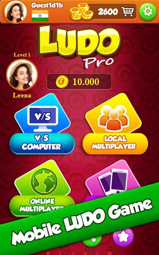Ludo Pro : King of Ludo's Star Classic Online Game 15 تصوير الشاشة