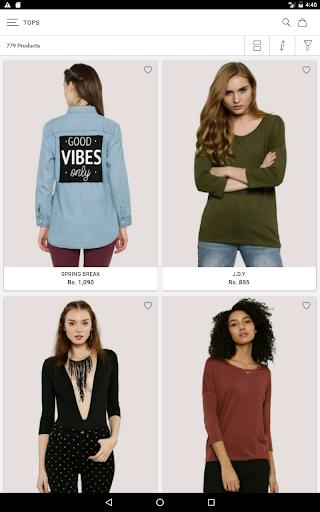 Koovs Online Shopping App скриншот 20