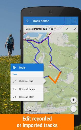 Locus Map Free - Hiking GPS navigation and maps screenshot 4