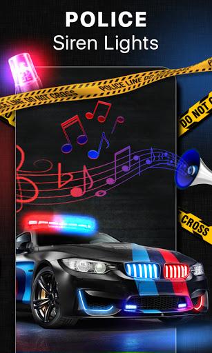صوت صفارة الشرطة بصوت عال - الشرطة صفارة الإنذار 1 تصوير الشاشة