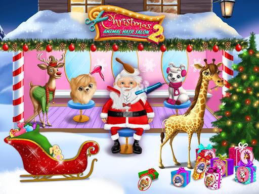 Christmas Animal Hair Salon 2 10 تصوير الشاشة