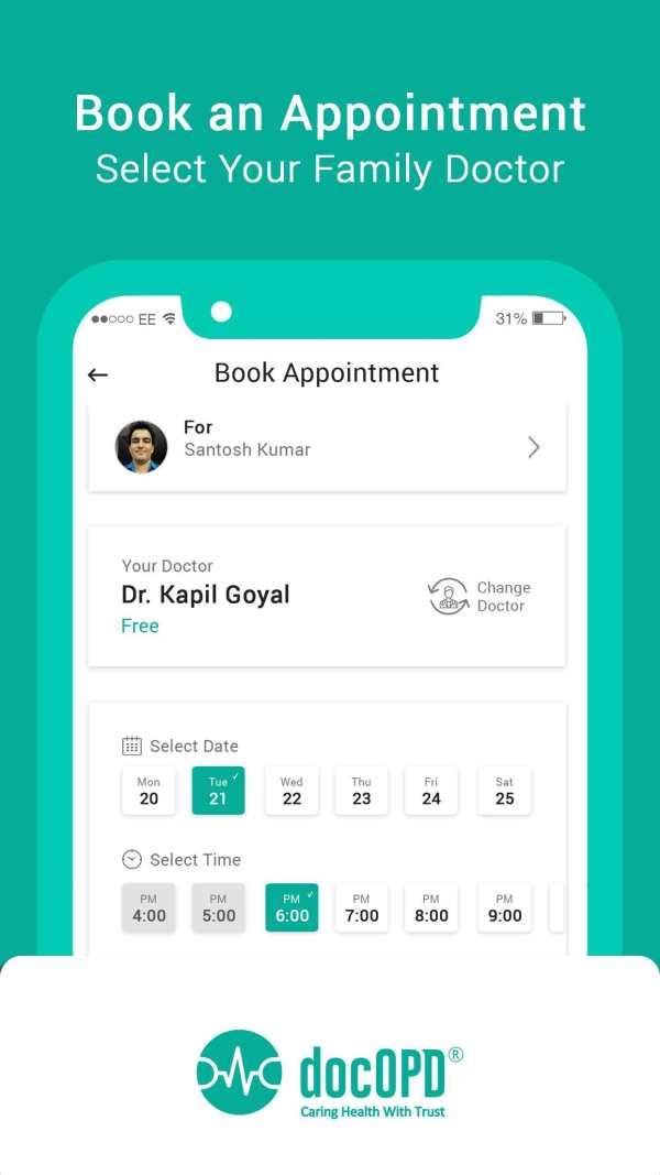 docOPD - Family Doctor Tele Consultation 5 تصوير الشاشة