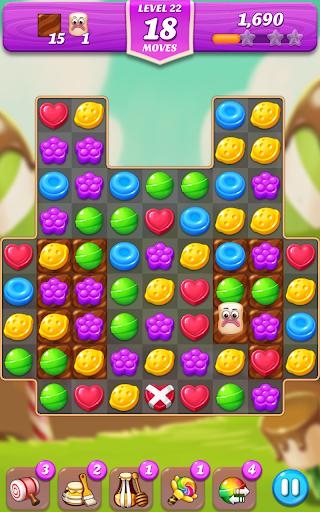 Lollipop & Marshmallow Match3 5 تصوير الشاشة