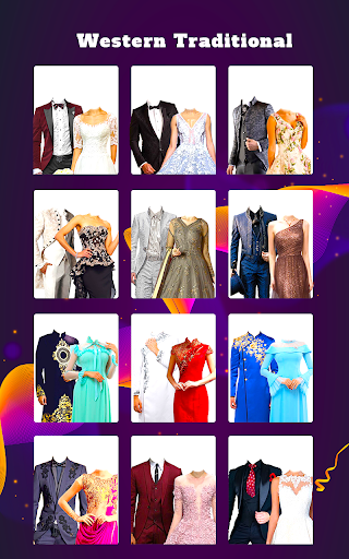 Couple Tradition Photo Suits - Traditional Dresses screenshot 5